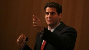 L'ambassadeur d'Israël aux Etats-Unis, Ron Dermer (Crédit : Miriam Alster / Flash90)