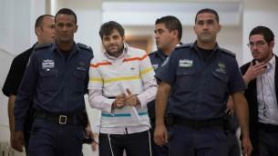 Yosef Haim Ben-David, principal suspect dans le meurtre de Mohammad Abu Khdeir (Crédit : Yonatan Sindel/Flash90)