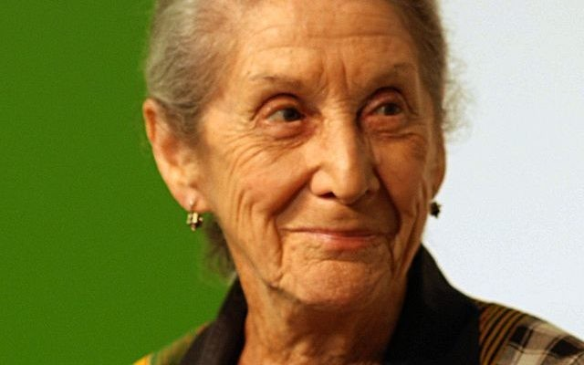 Nadine Gordimer (Crédit : Boberger/CC BY 3.0/Wikimedia commons)
