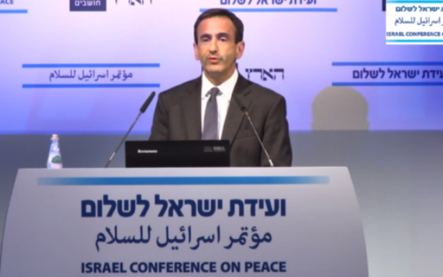 Philip Gordon (Crédit : capture d'écran Haaretz co.il)