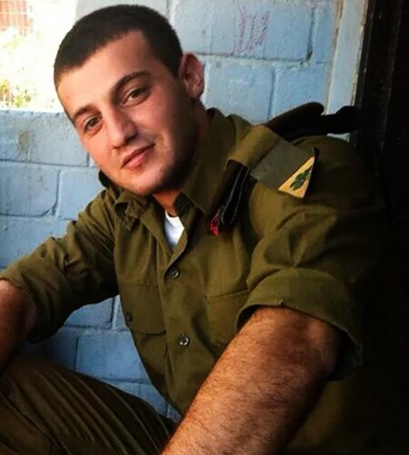 Jordan Bensemhoun, soldat seul de 22 ans mort pendant l'opération Bordure protectrice à Gaza, en 2014. (Crédit : armée israélienne)