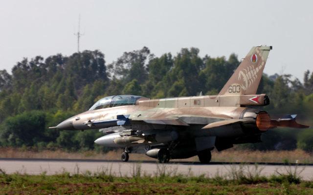F-16D 'Barak (Crédit : Tsahi Ben-Ami/Flash 90)