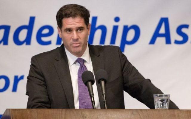 Ron Dermer, ambassadeur d'Israël auprès des Etats-Unis. (Crédit : Ron Sachs)
