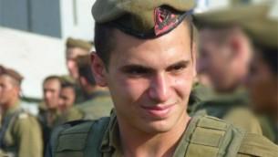 Le sergent Gilad Yacoby mort au combat à Gaza (Crédit : autorisation)