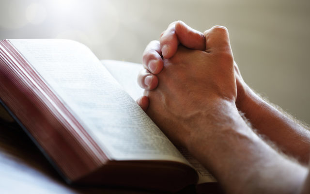 Illustration d'une prière (Crédit : via Shutterstock)
