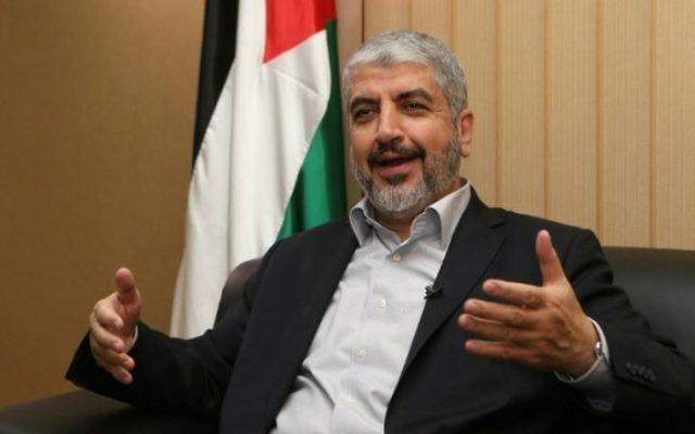 Khaled Meshaal (Crédit : AFP)