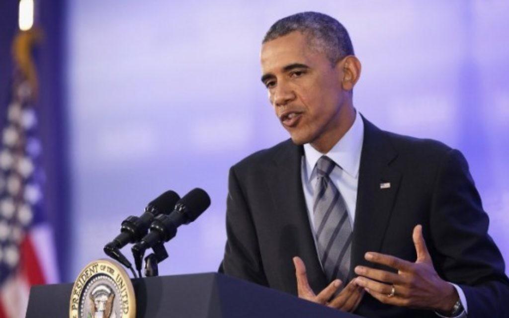 Barack Obama (Crédit : Alex Wong/Getty Images/AFP)