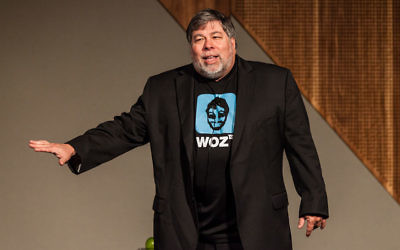 Steve Wozniak (Crédit : Nichollas Harrison/Wikimedia commons/CC BY SA 3.0)