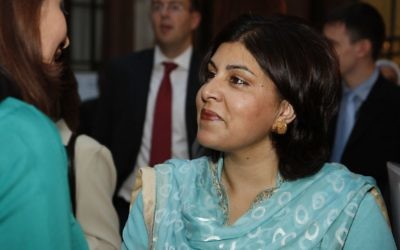 Baronness Sayeeda Warsi (Crédit : ukhomeoffice/Wikimedia commons/Flickr/CC BY 2.0)