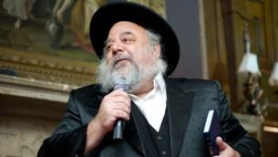 Ellie Meyer, un Hassid Habad, consulté sur les films sur les juifs hassidiques. (Ieva Sireikyte Photographie / JTA)