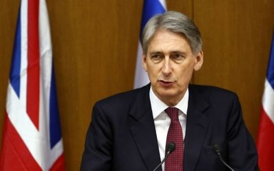 Philip Hammond (Crédit : Flash90)