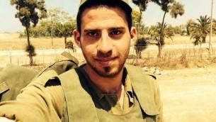 Noam Rosenthal, 20 ans, tué par un tir de mortier (Crédit: IDF Spokesperson/FLASH90)