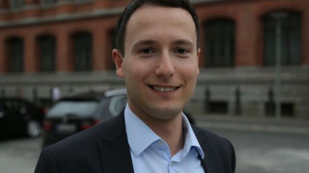 Grigori Lagodinsky, membre du conseil de direction de NUMOV (Crédit : Micki Weinberg/Times Of Israel)