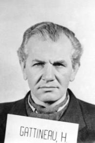 Heinrich Gattineau (1905-1985) au procès de Nuremberg (Crédit : Wikipédi/Domaine public)