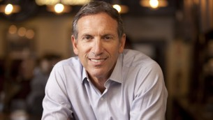 Howard Schultz, fondateur de Starbucks (Autorisation : courtesy Howard Schultz book photo