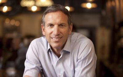 Howard Schultz, fondateur de Starbucks (Autorisation : courtesy Howard Schultz book photo