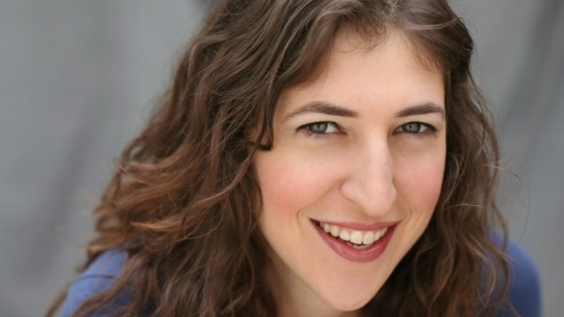 La star de The Big Bang Theory Mayim Bialik (Crédit : Denise Herrick Borchert)