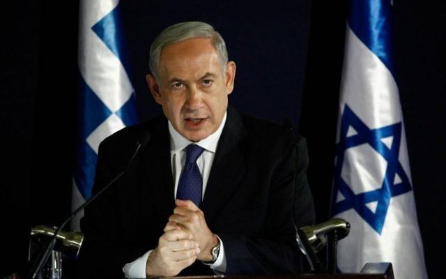 Le-Premier-ministre-israélien-Benjamin-Netanyahu-Crédit-Flash-90-965x543