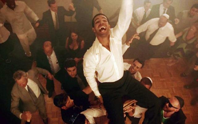 Le rappeur juif Drake (Crédit : Cash Money Records/Youtube/JTA)