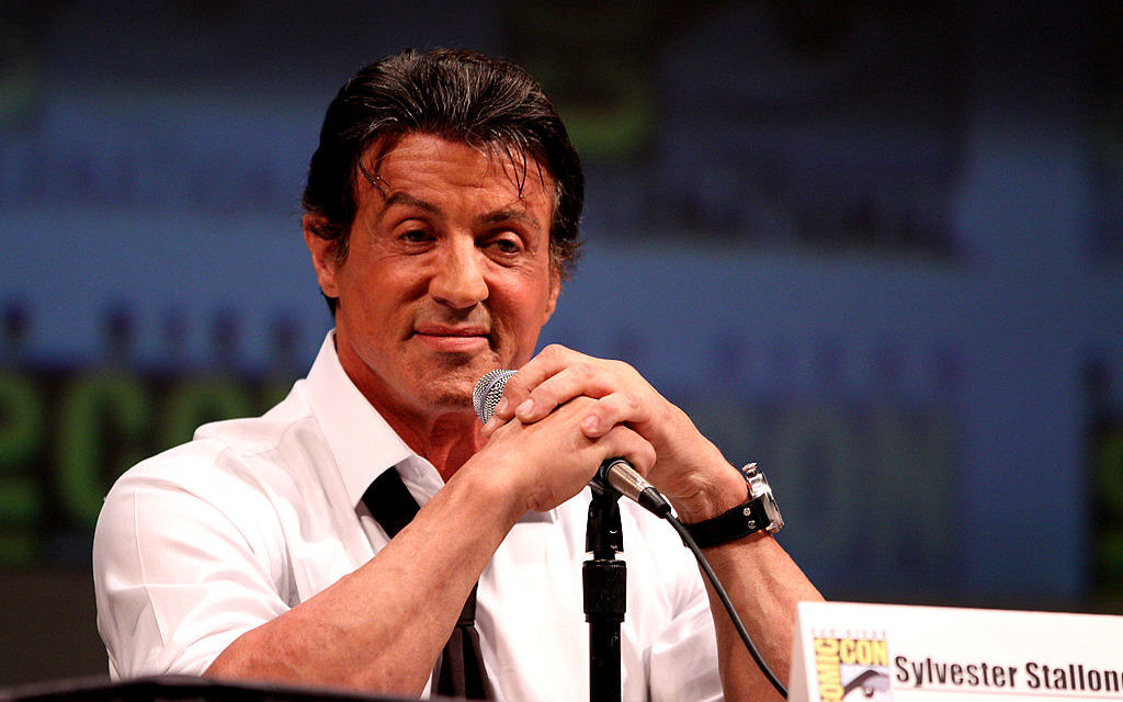 Sylvester Stallone (Crédit : Sylverster Stallone/wikicommons)