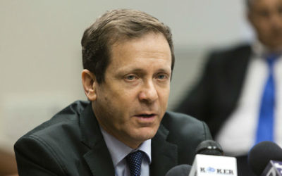 Isaac Herzog, député de l'Union sioniste et chef de l'opposition, le 28 juillet 2014. (Crédit : Flash90)