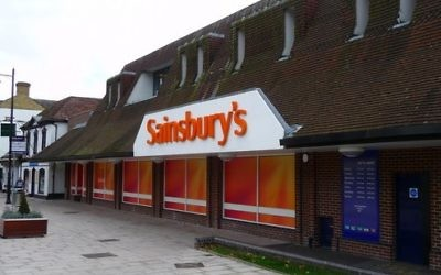 Enseigne de Sainsbury's (Crédit : CC-BY-SA Chris Talbot/Wikimedia Commons)