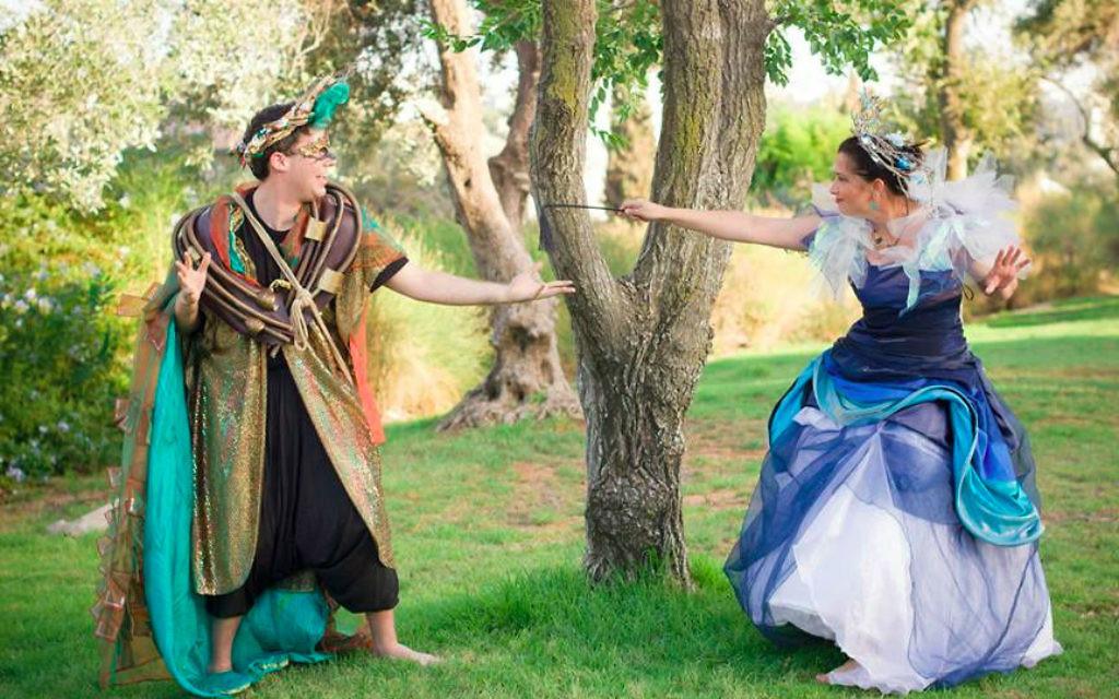 Une histoire d'amoureux qui offre un répit bienvenu après les événements de l'été (Crédit : Yitz Woolf)