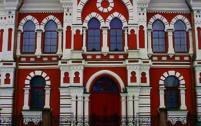 Illustration : La plus vieille synagogue de Kiev (Crédit : Wikimedia/Kazimierz222)
