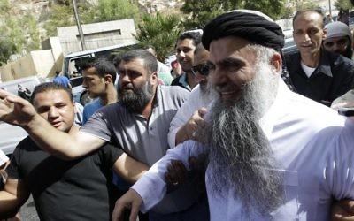 Abu Qatada (Crédit : KHALIL MAZRAAWI / AFP)