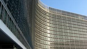 Le bâtiment de la Commission européenne à Bruxelles (Crédit : tpholland/Wikimedia communs/CC by 2.0)