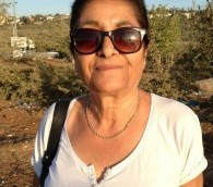 Yael Sip, résidente à Ariel (Crédit : Elhanan Miller / Times of Israël)