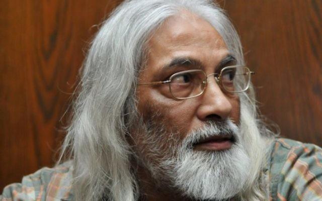 Goel Ratzon, gourou et leader d'une secte, au tribunal en 2010 (Crédit : Yossi Zeliger/Flash90)