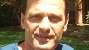 La professeur Gary Gellerman, un biochimiste de l'Université d'Ariel, qui a co-rédigé l'étude (Crédit : Autorisation)