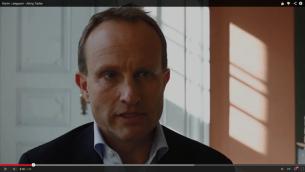 Le ministres des Affaires étrangères danois, Martin Lidegaard (Crédit : Capture d'écran YouTube)
