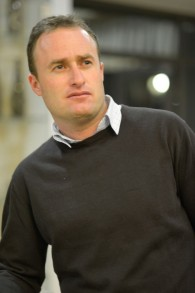 Yaakov Berg, 37 ans, avocat de formation qui a établi  Psagot Winery sur les collines de l'implantation (Crédit : Mira Levy)