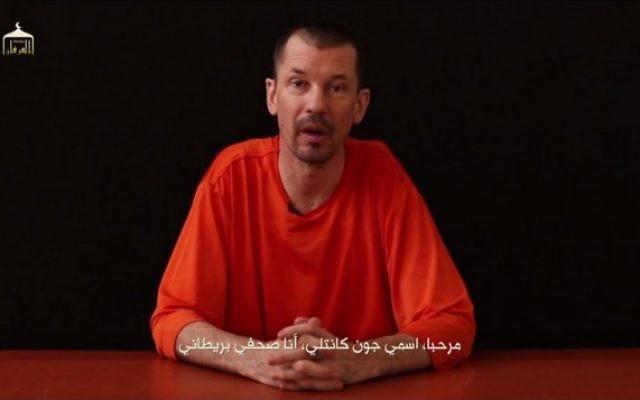 John Cantlie (Crédit : YouTube)