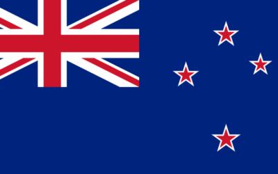 Drapeau Nouvelle-Zélande (Crédit : Wikipédia)