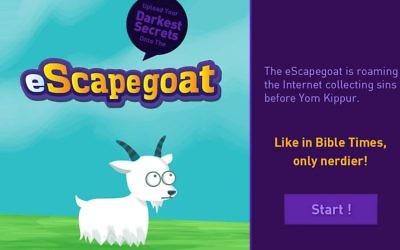 Capture d'écran eScapegoat (Crédit : autorisation)