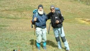 Magnus à la Tierra del Fuego, sur la pointe sud de l'Argentine (Crédit : autorisation Hilik Magnus)