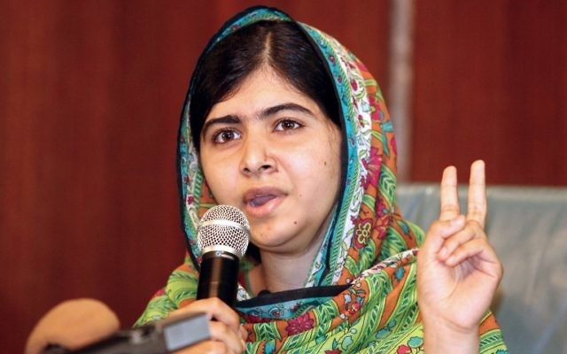 Malala Yousafzai (Crédit : WOLE EMMANUEL / AFP)