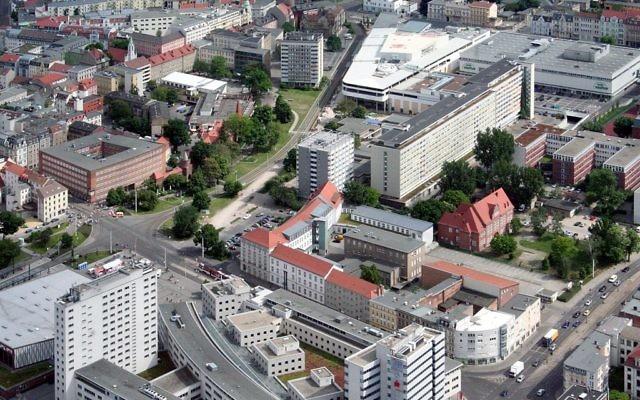 Vue sur le centre-ville de Cottbus (Crédit : Sunibla - Eigenes Werk/CC BY SA 3.0/Wikimedia communs)