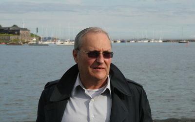Efraim Zuroff à Helsinki en 2012 (Crédit : Petri Krohn/Wikimedia commons/CC BY  3.0)