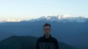 Agam Luria, tué dans une avalanche au Népal (Crédit : Facebook)