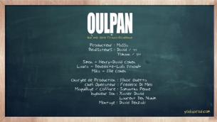 Capture d'écran du générique de la série franco-israélienne Oulpan (Crédit : YouTube)