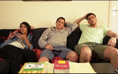 Bénédicte-Lala Ernault, Henry-David Cohen et Elie Cohen (Capture d'écran YouTube)