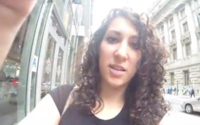 Capture d'écran Shoshana Roberts (Crédit : YouTube)