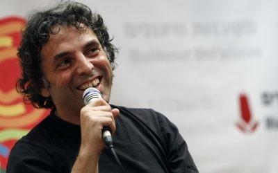 Etgar Keret au Festival international des écrivains. (Crédit : Miriam Alster / flash 90)
