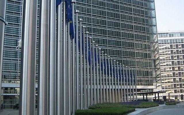 La Commission européenne à Bruxelles (Crédit : JLogan/Wikipédia)