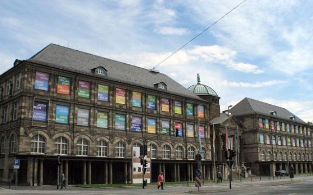 Le musée Wiesbaden en Allemagne (Crédit : Wikimedia Commons/Oliver Abels -- CC BY 2.5)