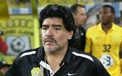Diego Armando Maradona en 2012 (Crédit : Wikimedia Commons, CC BY 2.0, Neogeolegend)